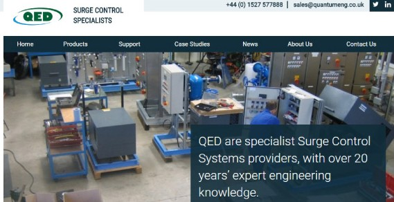 QED showing where their engineers work