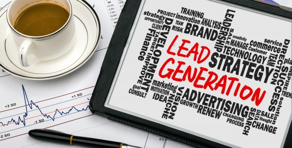 Picture showing lots of ways to generate leads